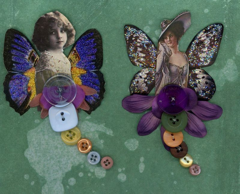 Fairy Buttons 10.19.08